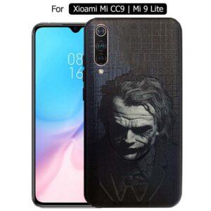 قاب طرح جوکر شیائومی Painted joker Case Mi CC9 | Mi 9 Lite