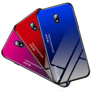 قاب شیشه ای شیائومی Luxury Tempered Glass Case | Redmi 8A