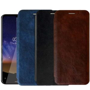 کیف 360 درجه نوکیا Wallet Leather Stand Case | Nokia 2.2
