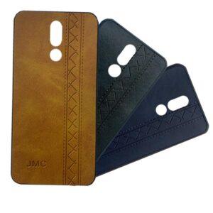 قاب چرم نوکیا JMC Leather Vintage Case Nokia X6 | 6.1 Plus