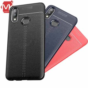 قاب محافظ سامسونگ Leather Pattern Leather Case | Galaxy A10s