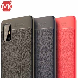 قاب اتو فوکوس سامسونگ Litchi Texture Cover | Galaxy A51