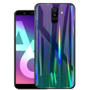 قاب لیزری هفت رنگ سامسونگ Baseus Laser Cover | Galaxy A6 Plus 2018