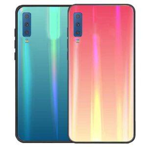 قاب هفت رنگ لیزری سامسونگ Baseus Laser Case | Galaxy A7 2018 | A750