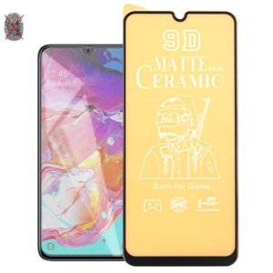 buy price samsung galaxy a70 matte ceramics screen protector گلس سرامیکی مات