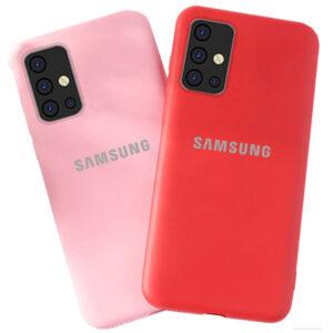 قاب اصل سیلیکون سامسونگ Liquid Silicone Case | Galaxy A71
