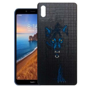 قاب محافظ شیائومی TPU Designed Wolf Case | Redmi 7A