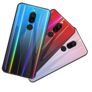 قاب لیزری شیشه ای براق شیائومی Baseus Laser Case | Redmi 8