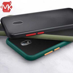 قاب شفاف هیبرید شیائومی Transparent Hybrid Silicone Cover | Redmi 8A