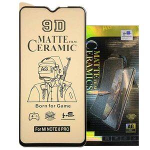 محافظ صفحه سرامیک مات شیائومی Film Matte Ceramics | Redmi Note 8 Pro