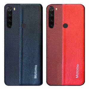 قاب چرم + پارچه شیائومی Motomo Cloth Leather Case | Redmi Note 8T