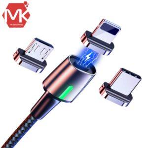 کابل شارژر baseus magnetic fast charge cable