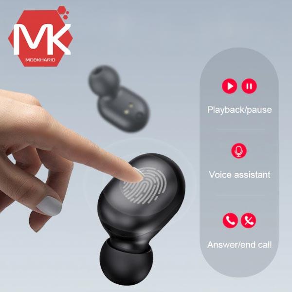 ایرفون TWS touch bluetooth earphone Haylou GT1