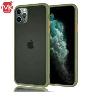 قاب محافظ هیبرید شیائومی Silicone Hybrid Case | iphone 11 Pro