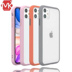 قاب هیبرید پشت شفاف آیفون Silicone Hybrid Cover | iphone 11