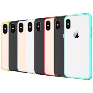 قاب هیبریدی شفاف آیفون Hybrid Case | iphone XS Max
