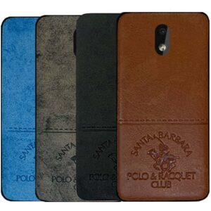 قاب محافظ نوکیا POLO Cloth Pattern Vintage Case | Nokia 2.2