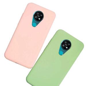 قاب اصل سیلیکون نوکیا Liquid Silicone Case | Nokia 7.2