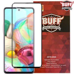 محافظ نمایشگر بوف سامسونگ BUFF Specially 5D Glass | Galaxy A71