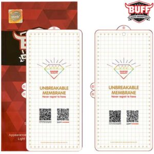 محافظ صفحه هیدروژل سامسونگ BUFF Unbreakable protector | Galaxy Note 10 Plus
