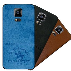 قاب محافظ سامسونگ POLO Cloth Pattern Vintage Case | Galaxy Note 4
