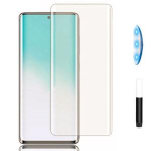 محافظ صفحه یو وی سامسونگ Full Coverage UV Glass | Galaxy S20 Plus