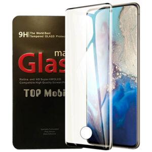 محافظ شیشه ای پوشش منحنی Magic Full Glass | Galaxy S20 Plus