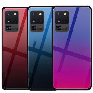 قاب شیشه ای براق سامسونگ Shiny Glass Cases | Galaxy S20 Ultra