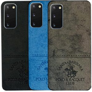 قاب محافظ پولو Cloth Pattern POLO Cover | Galaxy S20