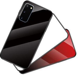 قاب پشت گلس سامسونگ Luxury Glass Cases | Galaxy S20