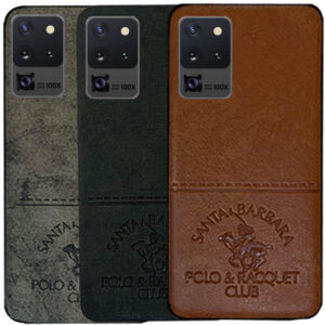 قاب محافظ پولو Cloth Pattern POLO Cover | Galaxy S20 Ultra