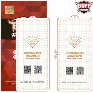 محافظ صفحه هیدروژل شیائومی BUFF Hydrogel protector Mi Note 10   Note 10 Pro