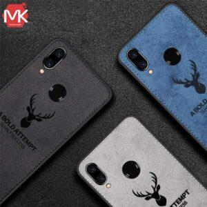 قاب گوزنی شیائومی Cloth Pattern Deer Cover Redmi Note 7 | Note 7 Pro