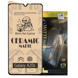 محافظ مات سرامیکی سامسونگ Screen Ceramics Matte | Galaxy A20s