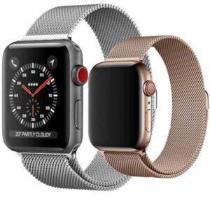بند استیل حصیری اپل واچ Apple Watch Minalese Loop Bracelet | 38mm | 40mm