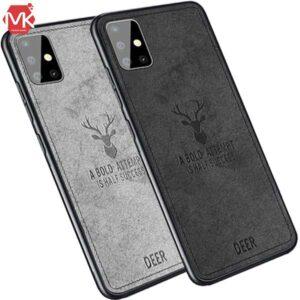 قاب طرح پارچه گوزنی سامسونگ Hand Stitching Deer Cover | Galaxy A51