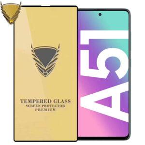 محافظ نمایشگر طلایی سامسونگ OG Golden Armor Glass | Galaxy A51