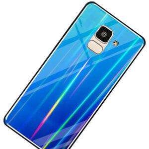 قاب شیشه ای لیزری سامسونگ Luxury Laser Cover | Galaxy j6 2018