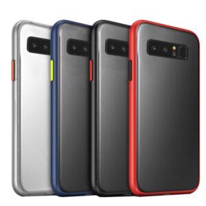 قاب دودی هیبرید سامسونگ Matte Hybrid Case | Galaxy Note 8