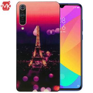 قاب سرامیک یو وی شیائومی UV Coated Eiffel Case | Mi A3 | Mi CC9e