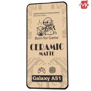 محافظ مات سرامیکی سامسونگ Ceramics Matte Film | Galaxy A51
