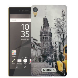 قاب محافظ سونی Black & White Painted City Case | Z5 Premium