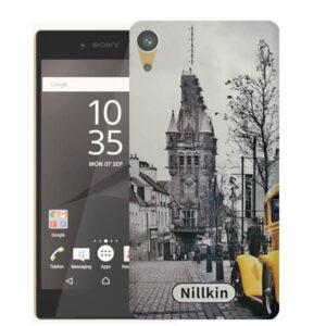 قاب محافظ سونی Black & White Painted City Case | Z5 Premium