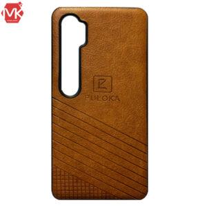 قاب چرم شیائومی PULOKA Leather Case Mi Note 10 | Note 10 Pro | CC9 Pro
