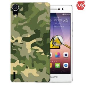 قاب طرحدار هواوی Designed Army Cover | Huawei P7