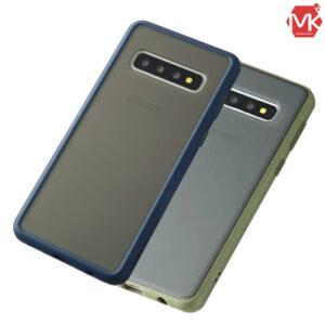 قاب هیبرید دودی سامسونگ Matte Hybrid Case | Galaxy S10