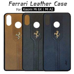 قاب فراری شیائومی Ferrari Leather Cover | Mi 6X | Mi A2