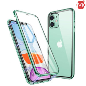 قاب مگنتی آیفون Tempered Glass Magnetic Case | iphone 11