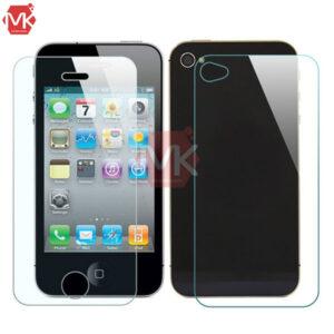 محافظ صفحه + گلس پشت آیفون Tempered Glass | iphone 4s