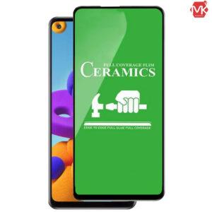 محافظ سرامیک سامسونگ Screen Ceramic Protector | Galaxy A21